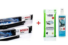 Bosch Wischer-Set vorne + hinten AR502S + H400 +Anti-Beschlag +Reinigungstücher