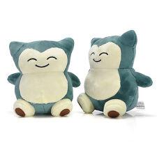"4"" Pokemon Anime Cute Pocket Monster Snorlax Stuffed Plush Doll Figure Toy Kids"