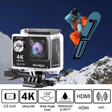 Ultra HD 4K WIFI Sports Action Camera Waterproof DV Camcorder 12MP Fits Go Pro