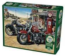 Two For The Road-American Motorbikes 1000 piece jigsaw puzzle 670mm x 480mm (pz)