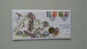 2007 G.B £1 Coin Cover - A Fine Day Out In Newcastle And Gateshead