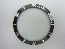 ORIGINALE ROLEX SUBMARINER 16610 16800 168000 TRIZIO lunetta fissa intarsio BEZEL ║ m322