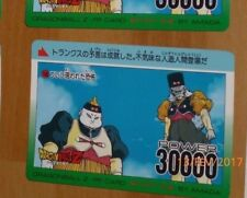 DRAGON BALL Z DBZ AMADA PP PART 16 CARD CARDDASS CARTE 706 MADE IN JAPAN **
