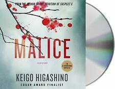 MALICE  Keigo Higashino (UNABRIDGED AUDIO 6 CD 2014)  NEW