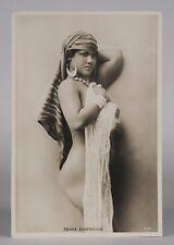 Andreas D.Reiser (1840-1898) Silver Gelatin Photograph 1895/ Nude Egyptian Woman