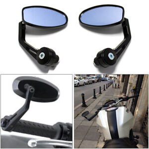 "Motorcycle Left&Right 7/8"" Handlebar End Mirrors For Triumph Street Speed Triple"
