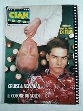 Ciak Cinema n.2 anno 1987 Cruise & Newman in Il colore dei soldi