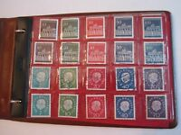 STAMP BOOKLET FULL OF GERMAN USED AND UNUSED STAMPS - TUB QQ