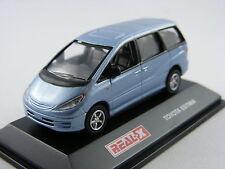 Toyota Estima in blaumetallic, Real-X 1/72, m/b