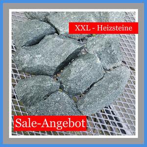 20 kg Sale Diabas Saunasteine Heizsteine Aufgussstein Dampfsteine Ofensteine XXL