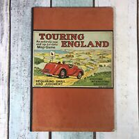 Vintage Rare Touring England Geographia Ltd 1940s Board ONLY