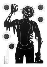"""JOKER AMMO® - Große Zielscheiben / Mannscheibe """" Horror Zombie """" - 10 Stück"""