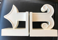 Jonathan Adler Bookends Happy Chic Katie White Arrow HARD TO FIND L@@K