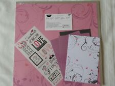 NEW Creative Memories Valentine Additions Scrapbook Paper Mats Stickers 12x12""