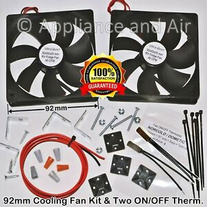 DOMETIC NORCOLD Refrigerator Fan ON/OFF Thermostat, Wiring, SMFK2C, ships TODAY!