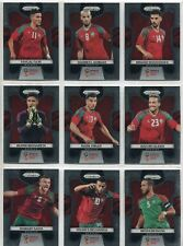 Panini Prizm World Cup 2018 Complete 9 Card Morocco Team Set
