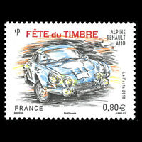 "France 2018 - Stamp Day ""Race Cars"" - MNH"