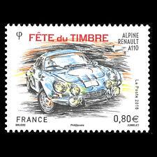 "France 2018 - Stamp Day ""Race Cars"" - MNH"