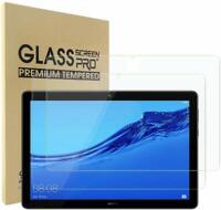 """2 X Tempered Glass Screen Protector for Huawei Mediapad T5 10 10.1"""" [2 Pack]"""