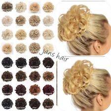 KOKO Hair Scrunchie Large Curly Messy Bun Updo Hairpiece Wrap Various Natural