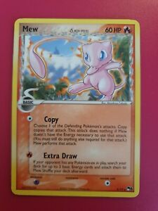 Pokemon Card Pop Series 5 Mew 3/17 RARE, Pop5 Delta Species WOTC 2007