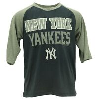 New York Yankees Official MLB Genuine Kids Youth Size Athletic Shirt New Tags