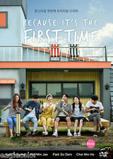 Because It's the First Time Korean Drama (2 DVDs) Excellent English & Quality!