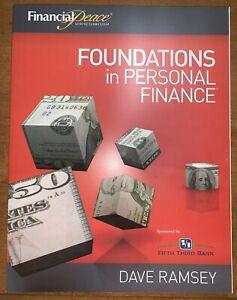 Foundations in Personal Finance Workbooks Ramsey