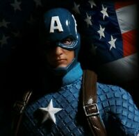 Captain America Marvel One:12 Collective High Quality BJD Figure Mezco Toys Box