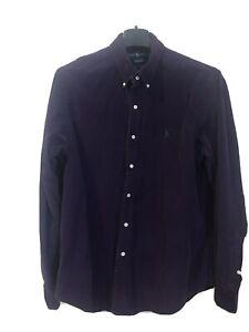 Ralph Lauren Purple Corduroy Shirt Mens XL