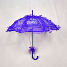 Women Lace Flower Sun Umbrella Gril Parasol Bridal Wedding Party Decoration xxf