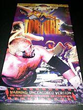 NEW FMW Ring of Torture VHS Japanese Hardcore Wrestling Tokyopop Nakamura