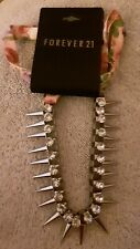 Choker Necklace With Spikes