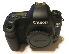 Canon EOS 6D 20.2 MP Digital SLR Camera - Black (Body Only) LOW SHUTTER COUNT!