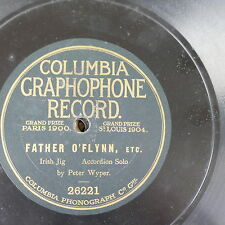 78rpm PETER WYPER father o`flynn , accordion solo graphophone 26221