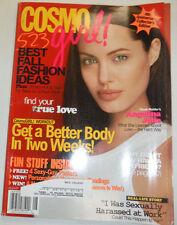 Cosmo Girl Magazine Angelina Jolie & 4th Anniversary August 2003 123014R2