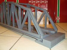 LGB 50610 LARGE GRAY PLASTIC 4 FOOT STEEL BRIDGE BRAND NEW IN ORIGINAL BOX!