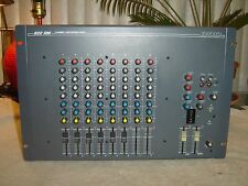 DOD 822 RM, 8 Channel Professional Mixer, with Equalizer, Vintage Rack