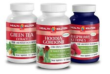 Green Tea Extract 300mg,Hoodia Gordonii 2000mg,Raspberry Ketones Lean 1200mg(3B)