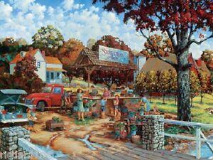 Jigsaw puzzle Americana Stone Creek Farm 750 piece NEW