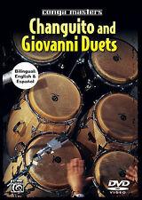 Changuito & Giovanni Hidalgo Conga Masters Drum Dvd New