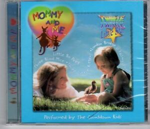 (EJ393) Mommy And Me, The Countdown Kids - 1998 sealed CD