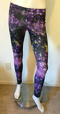 NEW UNIVERSE SPACE NEBULA GALAXY LEGGING PANT STRETCHY URBAN ROCKABILLY PUNK XS
