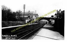 Orrell Park Railway Station Photo. Liverpool - Aintree. Maghull Line. L&YR. (3)