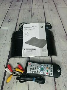 GE Smart Digital TV Converter Box Digital To Analog 22729 Dolby Digital Sound