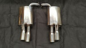 COMMODORE SEDAN VE VF SPORTS MUFFLERS WITH BIG 3.5 INCH TIPS FOR SS SSV SV6 HSV