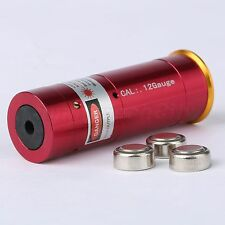 12GA Laser Cartridge Bore Sighter 12 Gauge Shot Gun Boresighter Sight Boresight