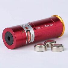 12GA Laser Cartridge Bore Sighter 12 Gauge Shot Gun Boresighter Sight Boresight
