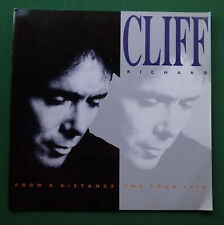 Cliff Richard From A Distance The Tour 1990 Programme