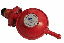 Red 37 mbar Propane Gas Regulator 8 mm Gas nozzle with Hand Wheel HW
